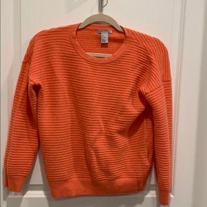 Cashmere salmon sweater H&M